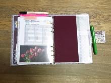 はなずきんの日記帳-手帳中裏表紙