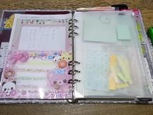 はなずきんの日記帳-ファスナーケース部分