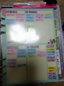 はなずきんの日記帳-やることシート(表)