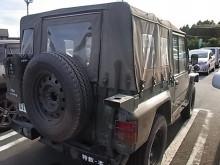 はなずきんの日記帳-自衛隊の車両(マックスバリュにて)