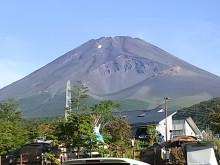 はなずきんの日記帳-朝の富士山