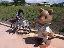 はなずきんの日記帳-自転車に乗る娘