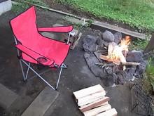 はなずきんの日記帳-焚き火台とチェア