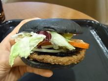 はなずきんの日記帳-黒バーガー