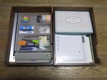 はなずきんの日記帳-文房具箱並列